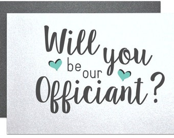 Wedding officiant gift | Etsy