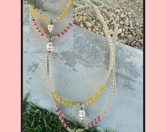 Handmade hemp necklaces