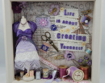 Create Yourself Shadowbox