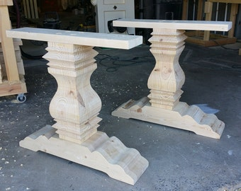 Trestle Dining Table Bases