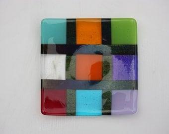 Fused Glass Mosaic Bowl