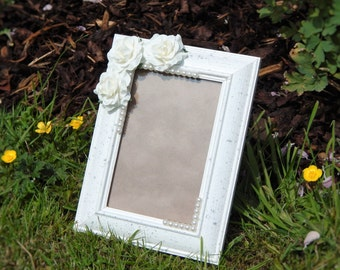 Roses and Pearls Frame