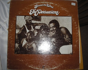 Spread the Word LP by the Persuasions - Capitol Records from 1972 - ST-11101