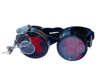 SteAMPunk GogGLes Victorian  Glasses diesel punk--P05 Wholesale