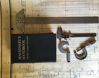 Vintage machinist tool set