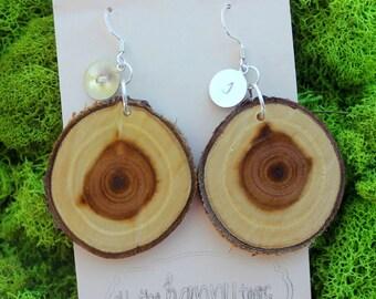 Russian Olive Wood Earrings 18