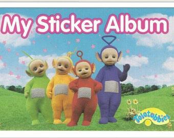 Vintage sandylion sticker album