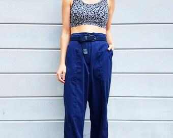 Vintage 80s workwear Pants