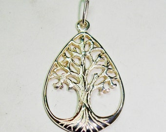 Hanging tree of life of silver