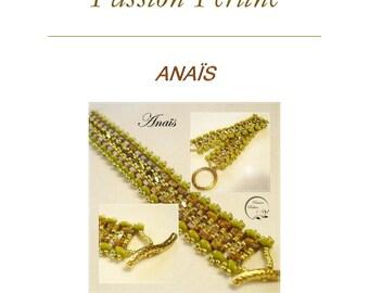 Pattern bracelet ANAÎS