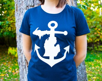 Michigan Anchor Shirt
