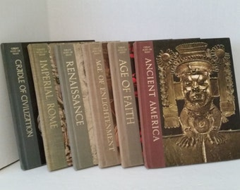 Vintage Collection of Time Life Great Ages of Man Series