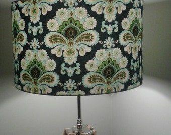 Handmade Lampshade Amy Butler French Wallpaper