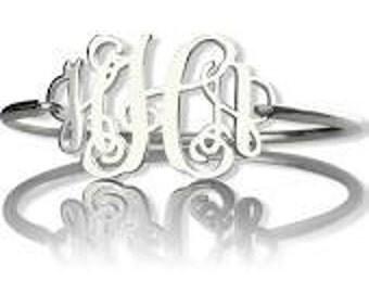 Personalized Silver Bracelet