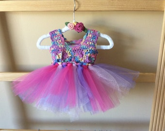 Tutu with Crochet Bodice