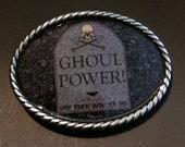 Ghoul Power Belt Buckle
