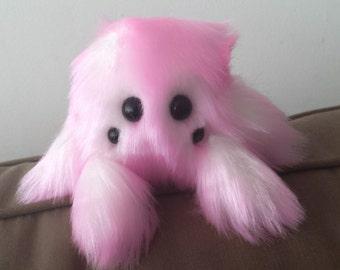 Personalized Stuffed Spider Custom Stuffed Animal Cute Spider Plush Handmade Stuffed Toy