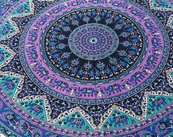 Mandala Tapestry, Mandala bedding, mandala tablecloth, Bohemian bedroom, Boho Decor, Hippie bedding, wall tapestry, Bohemian bedding