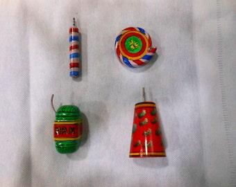 Indian Fridge magnets souvenirs memorabilia gift - Firecrackers