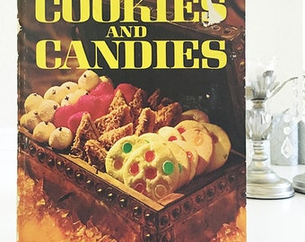 1966 Better Homes & Gardens Cookies and Candies cookbook