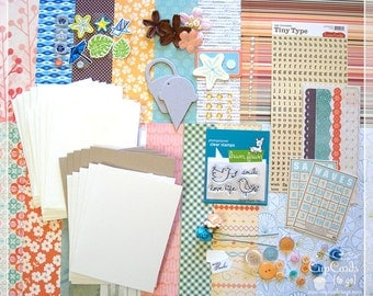 Card Making Kit, DIY Card Making, Greeting Cards, Card Kit, Kits, Crafts, Cards, Handmade Cards