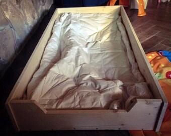 Montessori-Montessori Bed Pine bed 160