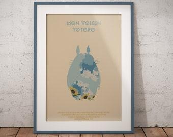 Affiche - Mon voisin Totoro