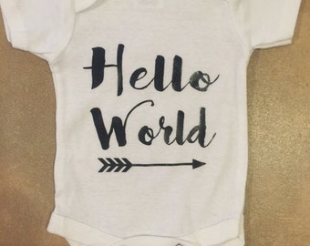 Hello World Onesie!