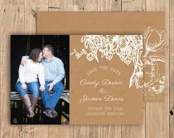 Custom Printable Save the Date