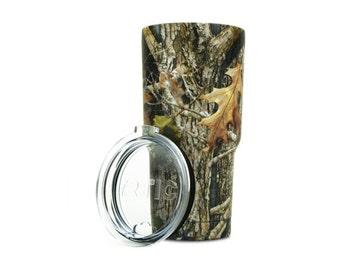 Custom engraved Camo tumbler, 30 oz Tumbler, Similar to Yeti, 20 oz Tumbler, Camo tumbler, Personalized gift