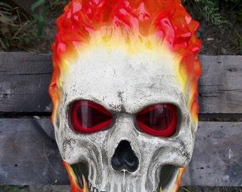 Ghost rider helmet/mask inspired