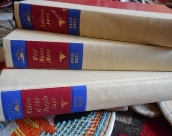 Zane Grey - Set of Three