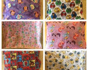 Handmade Pillowcases with Handmade Pillow