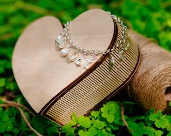 Wedding box for decoupage