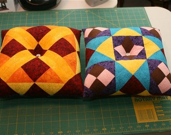 double sided pillow set