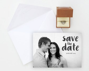 Printable Save the Date, Digital Download Wedding Save the Date