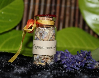 Happiness and Joy spell bottle