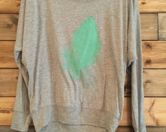 Feather Long Sleeve Shirt