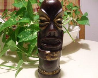 Tiki Tom Candle , Tiki Statue candle