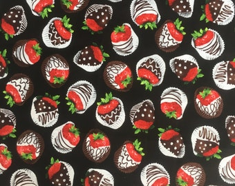 Chocolate strawberry reusable panty liner, cloth pad, mama cloth, pad, reusable, cloth