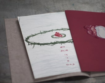 ROSE printmaking artist's book