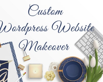 Wordpress Website Makeover - Blog Makeover for wordpress