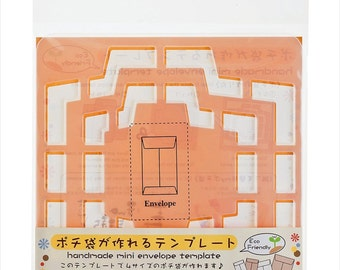 Handmade Mini Envelope Template From Japan