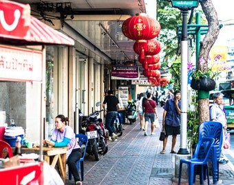 Chinatown in Thailand