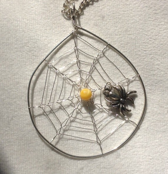 Yellow Spider Web