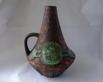 Walter Gerhards: Vintage West German Ceramic vase 208