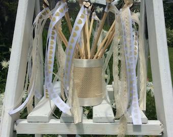Wedding wands.