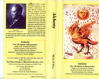 Manly P. Hall's Part One - Complete ALBUM LECTURE Series - 225 tapes - 450 Hours 1991! Rare!  mp3s  (1 DVD)!
