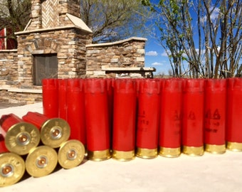 Empty Shotgun Shells 20 Lot Red with Brass Base Remington AA 12 Gauge 2.75''