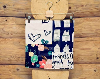 patchwork sew kit - happy home No. 1